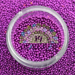 Metalized Micro Beads 1-1.5 g