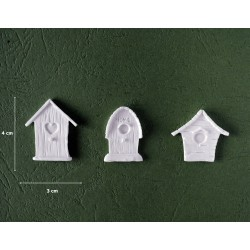 Mold 44 - 3x Small Cottages