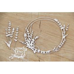 Chipboard - Frame Lavender Mist