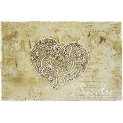 Chipboard - Steampunk Heart