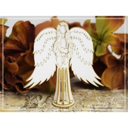 Chipboard - Angel 3D
