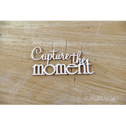 Chipboard - Capture the moment - text