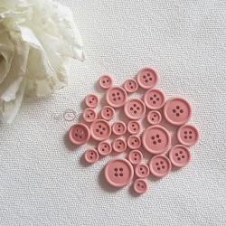 Button set 013- PINK