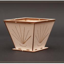 Chipboard - Decorative Flowerpot (3D)