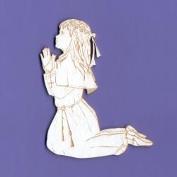Chipboard - First Communion Girl