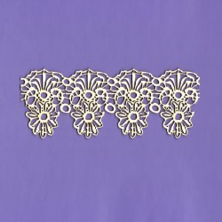 Chipboard- Lace borders B