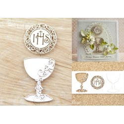 Chipboard - First Holy Communion set of chalice