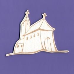 Chipboard - Engraved Church
