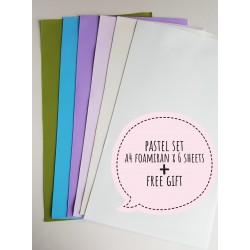 Foamiran A4 Set - Pastel