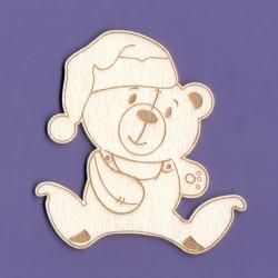 Chipboard -Teddy Bear/Sleepyhead