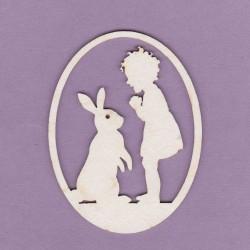 Chipboard - Easter egg/Boy