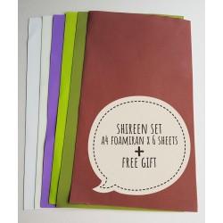"Foamiran A4 Set - ""Shireen"" (019)"