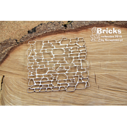 Chipboard-Small  Background /Bricks - Little Wall