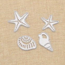 Starfish and Shells  - Cutting Dies