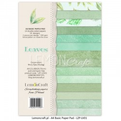 Scrapbooking Papers - Leaves 01