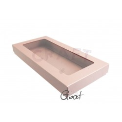 Box DL with window - PEARL PINK