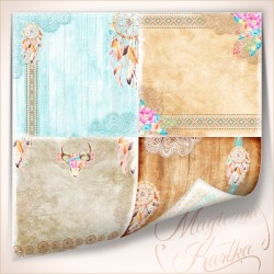 Scrapbooking Paper - Dream Catcher Collection
