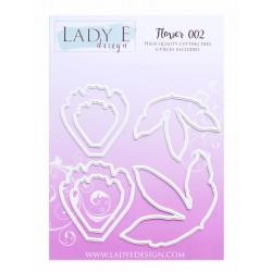 Lady E Design  Dies Flower 002