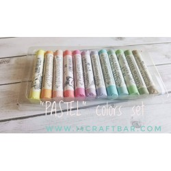 """PASTEL"" colors set- 12pcs"
