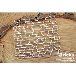 Chipboard-Background /Bricks - Big Wall