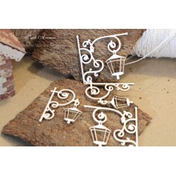 Chipboard - Park Avenue lantern/small 4pcs