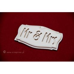Chipboard - Mr & Mrs Signboard