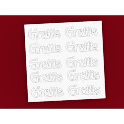 "Chipboard - ""Grattis"" - in Swedish"