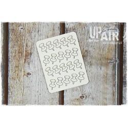 Chipboard - Pushpins/20pcs