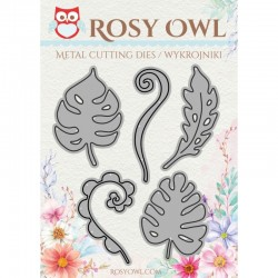 Rosy Owl Dies - Tropical Leaves