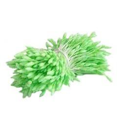 Glitter Stamens 2.50/7mm-GREEN