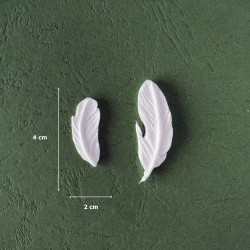 Mold 13- Small Decorative Feathers