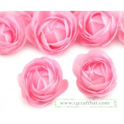 Silk Rose 3.5 cm / 10 pcs /PINK