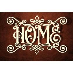 Chipboard - HOME Inscription