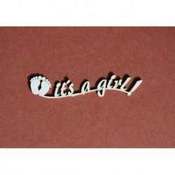 Chipboard - IT'S A GIRL
