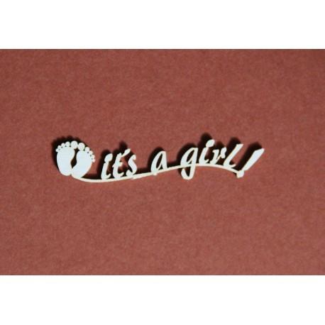 Chipboard - IT'S A GIRL