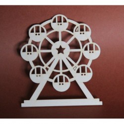 "Chipboard - Carousel ""Ferris wheel"""