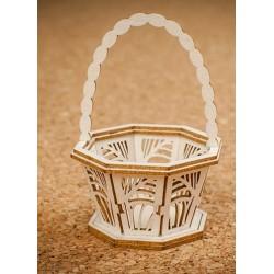 Chipboard - Decorative Basket Small (3D)