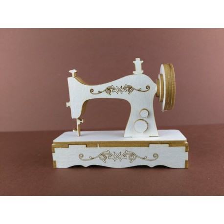 Chipboard - Sewing Machine / 3D