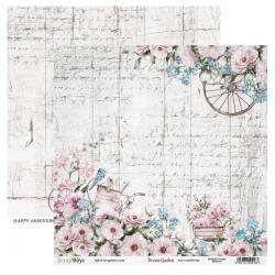 Scrapbooking Papers - DREAM GARDEN- Pad 12 x 12