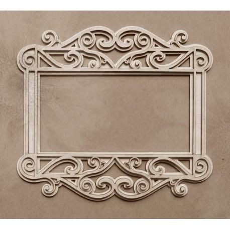 Chipboard - Layered album frame