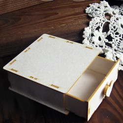Chipboard - Drawer to exploding box/ 3D