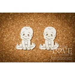 Chipboard - Baby Boy / 2pcs