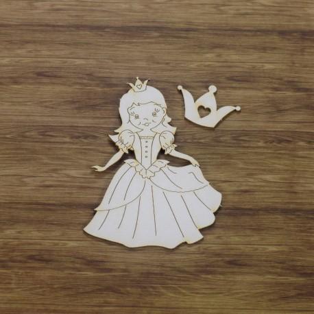 Chipboard - Little Princess