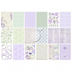 Scrapbooking Papers/ Creative Blocks A4 - MY SWEET PROVENCE