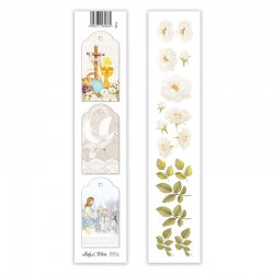Scrapbooking Paper Strap - Holy & White