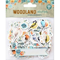 Ephemera DIE CUT Elements - Woodland Stories /66pc