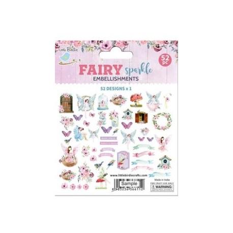 Ephemera DIE CUT Elements - Fairy Sparkle /52pcs