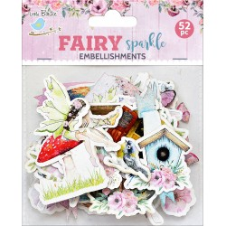 Ephemera DIE CUT Elements - Fairy Sparkle /52pcs