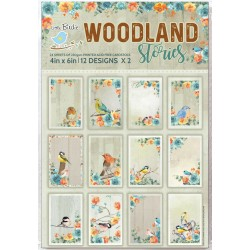 Ephemera / Journaling cards - WOODLAND STORIES