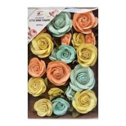 Little Birdie Flowers - FIONA  / Pastel Palette Pearl/ 28pcs